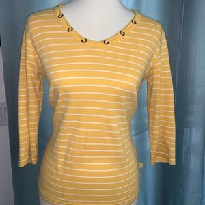 Liz Claiborne Beautiful sporty stripped blouse